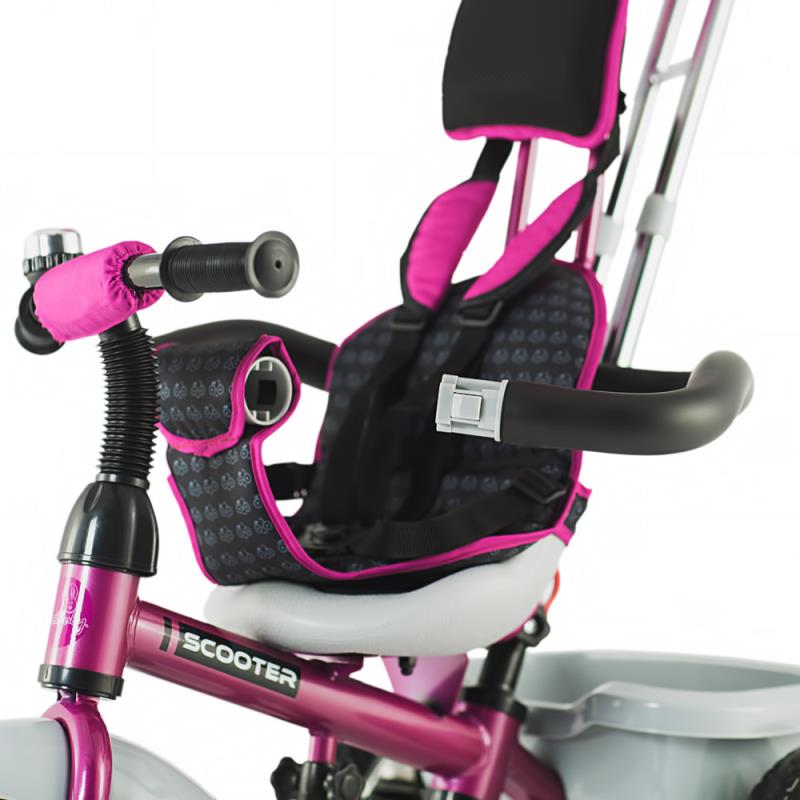 Tricicleta multifunctionala DHS Scooter Plus violet