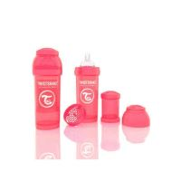 Biberon Twistshake Anti - Colici 260 ml Piersica