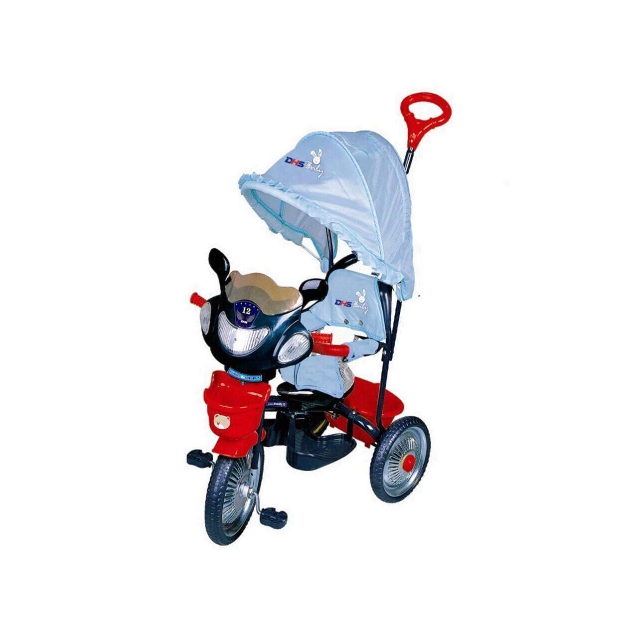 Tricicleta DHS JollyRide Albastru