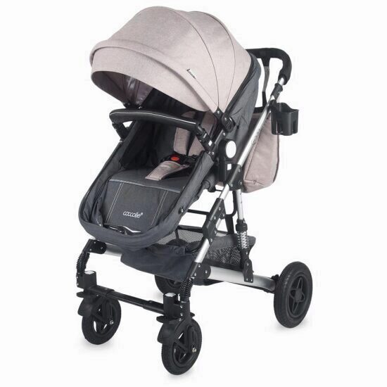 Carucior transformabil 2 in 1 Coccolle Giada Bej