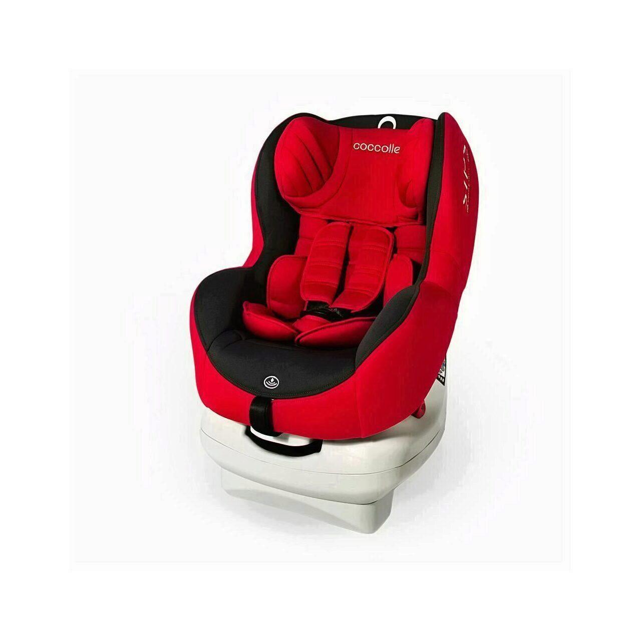 Scaun auto cu Isofix grupa 0-18 kg COCCOLLE Mira-Fix rosu