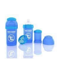 Biberon Twistshake Anti - Colici 180 ml Albastru