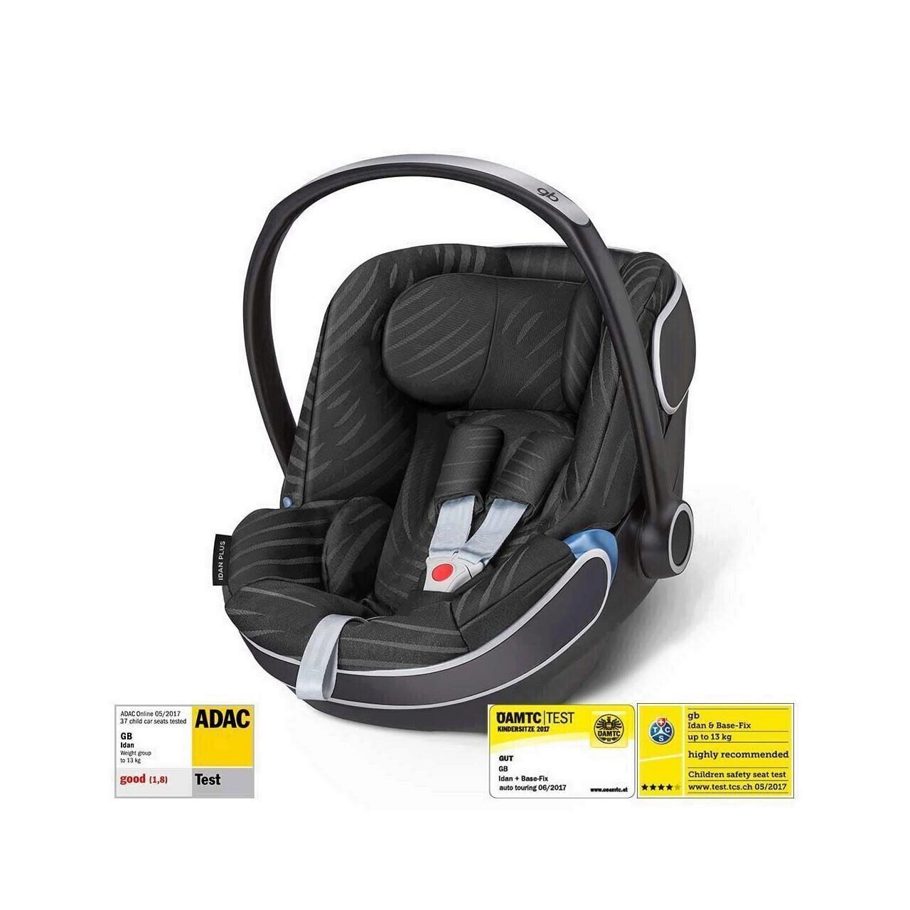 Cos auto 0-13 kg gb Idan Lux Black