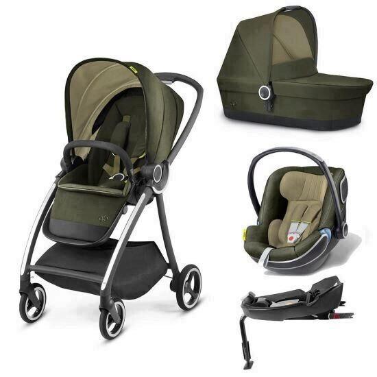 Carucior modular gb Maris 4 in 1 Lizard Khaki