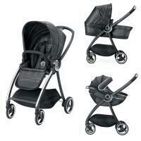 Carucior modular gb Maris 3 in 1 Lux Black